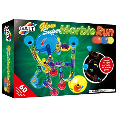 Galt Toys Construction - Glow Super Marble Run Toy: Toys & Games