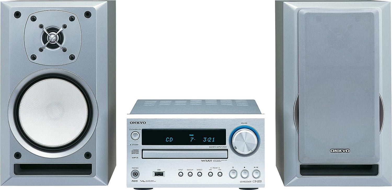 Onkyo CS 525 A S Kompaktanlage silber: Amazon.de: Audio & HiFi