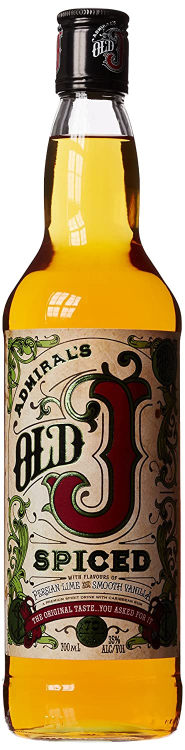 Old J Spiced Rum, 70 Cl by Amazon