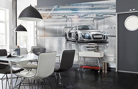 Komar 8 957 Papier Peint 368 X 254 Cm Audi R8 Le Mans Voiture De