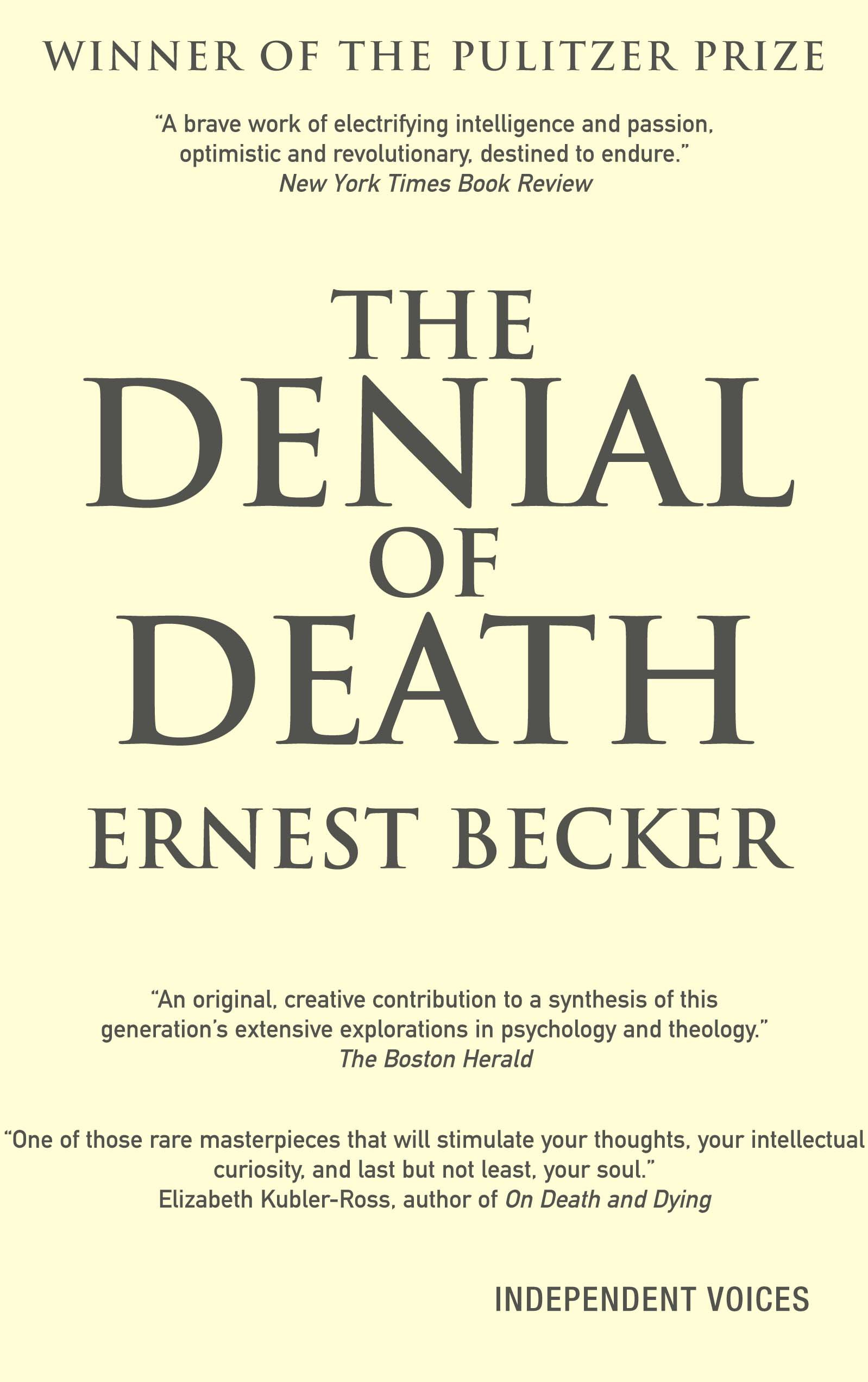 Download The Denial of Death pdf