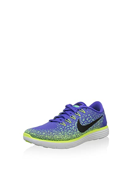 746f2f7608fd Nike Womens Free RN Distance - Persian Violet Black-Green Glow-Volt - 7. 0   Amazon.in  Shoes   Handbags