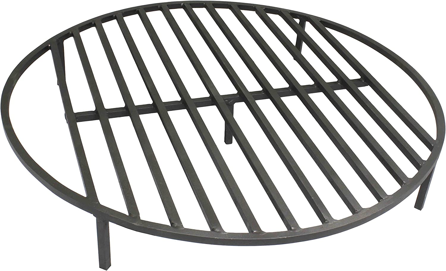 Titan Attachments Round Fire Pit Grate 30 Heavy Duty Grill Cooking Campfire Camp Ring 1 2 Steel