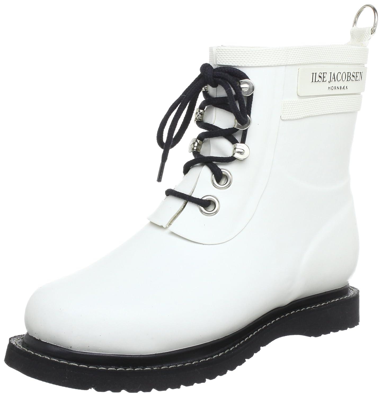 ILSE JACOBSEN Women's Rub 2 Rain Boot B072XMT39Z 40 EU (10-10.5 B(M) US Women)|White