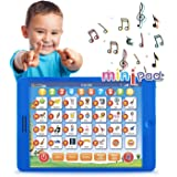 Boxiki kids Learning Pad Fun Kids Tablet with 6 Toddler Learning Games Early Child Development Toy for Number Learning, Learn
