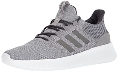 adidas Neo Men's Cloudfoam Ultimate Sneaker, Grey Three Fabric, Grey Four  Fabric, Carbon