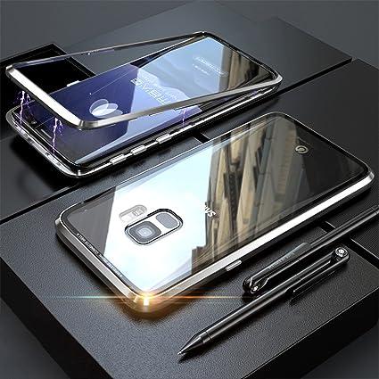 Amazon.com: Carcasa de metal para Samsung Galaxy S9 Plus ...