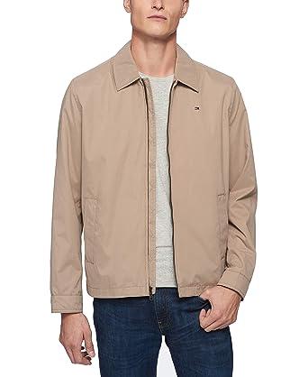 166a8862 Tommy Hilfiger Men's Lightweight Microtwill Golf Jacket (Regular & Big-Tall  Sizes),