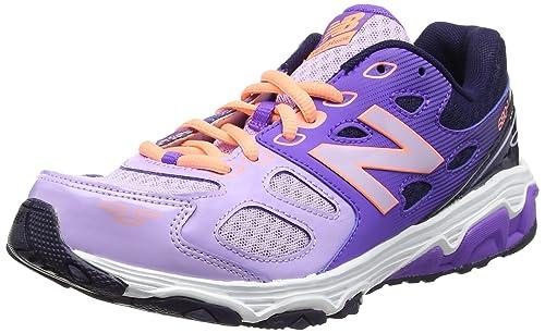 New Balance 680v3 Scarpe da Ginnastica Basse Unisex Bambini Viola Purple