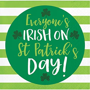 Image result for everyone's irish on st. patrick's day