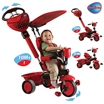 Amazon.com: Smart Trike 3-in-1 Tricycle - Lady Bug: Everything Else