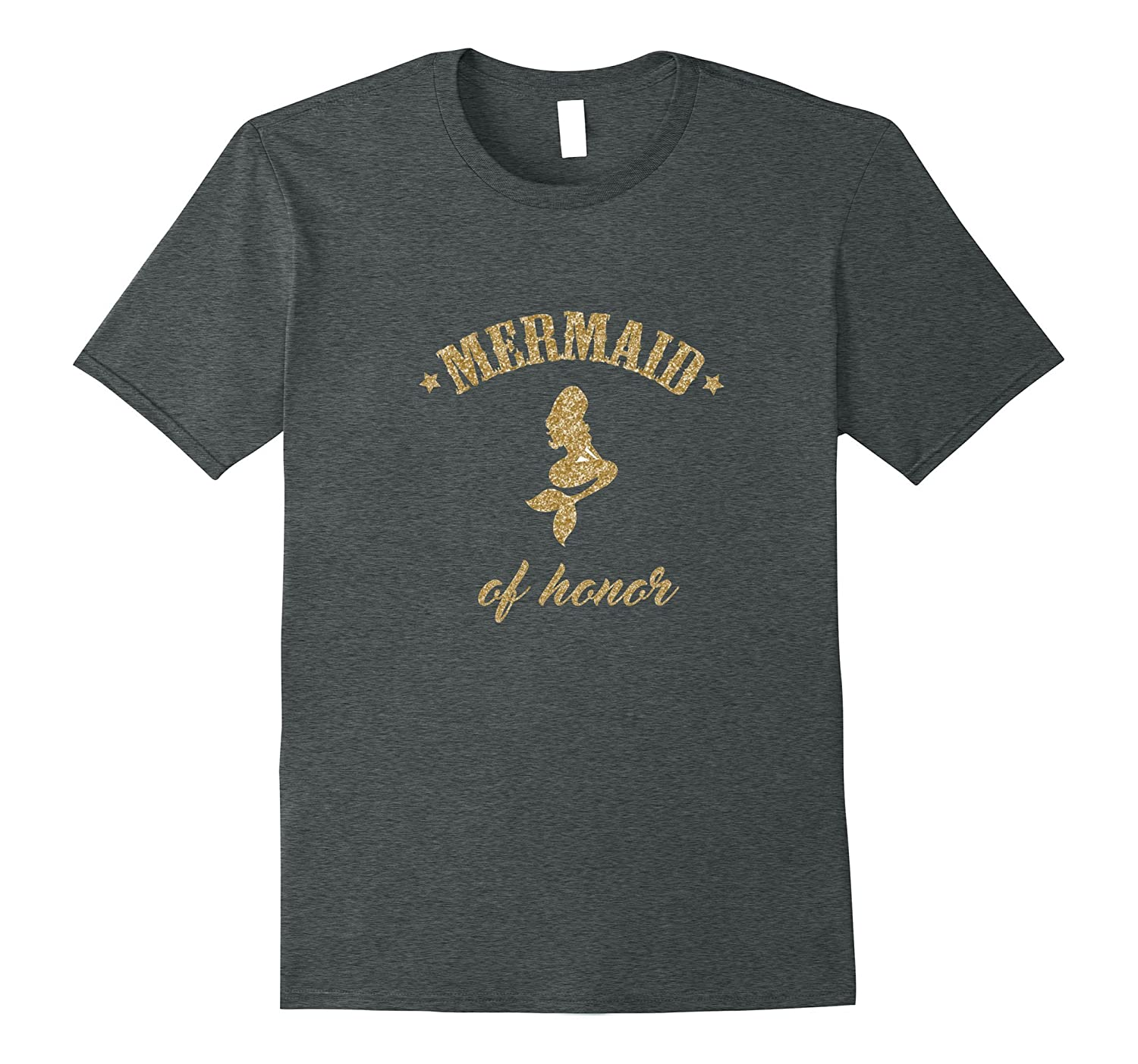 Bachelorette Party Shirt, Mermaid of honor-Samdetee