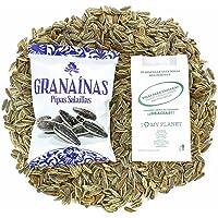 Pipas Granaínas Con Sal - Caja con 10 Unidades de 120g