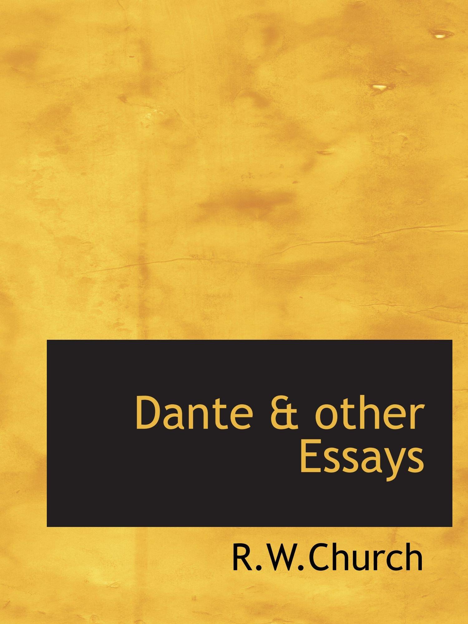 Download Dante & other Essays ebook