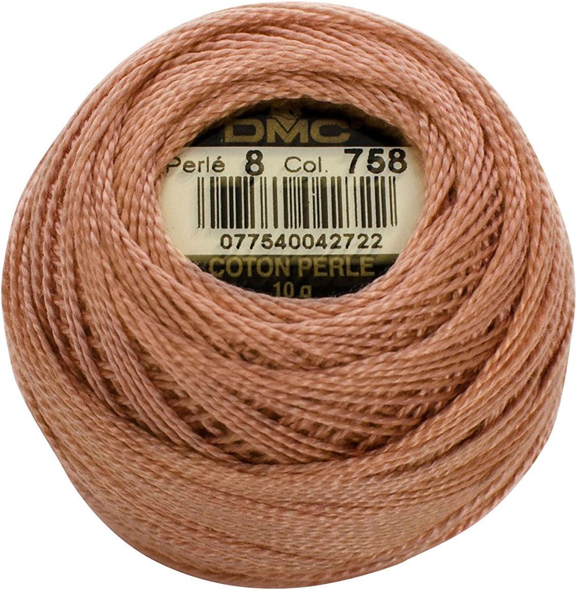 Very Light Blue Green DMC 116 8-504 Pearl Cotton Thread Balls Size 8