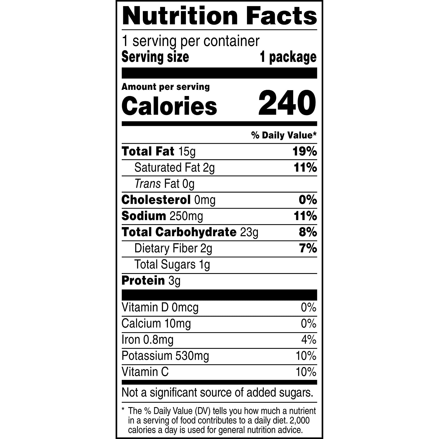 Party Chip Bag Nutrition Facts Nutritionwalls
