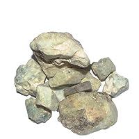 Crocon acquamarina Bulk grezzi naturali di pietra preziosa Rough cristalli per la guarigione Tumbling Cabbing lucidatura