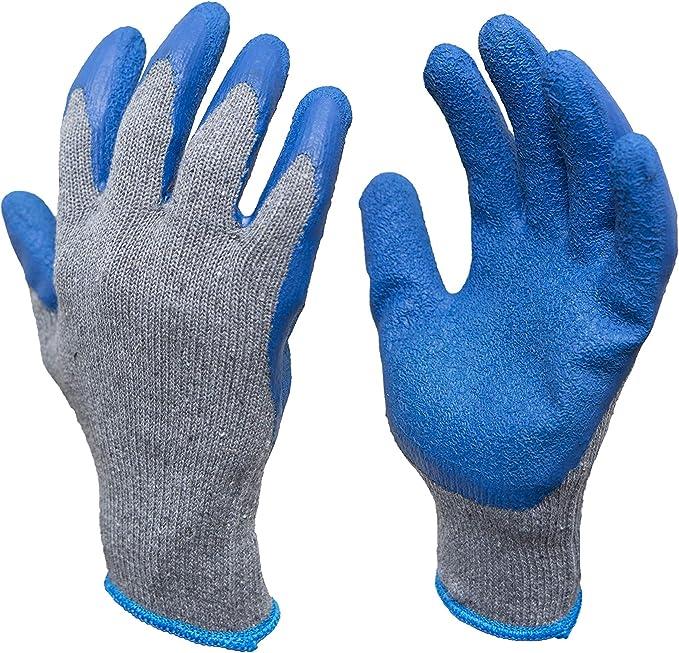 OX Latex Grip Work Gloves