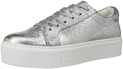 3503d255cc60 Image Unavailable. Image not available for. Color  Kenneth Cole New York  Abbey Metallic Leather Platform Sneaker