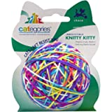 Categories Knitty Kitty Large Multi-Color - Yarn Ball Cat Toy With Rattle