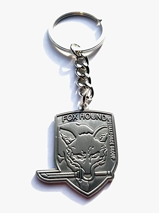 Metal Gear Solid Key Chain Foxhound Patch