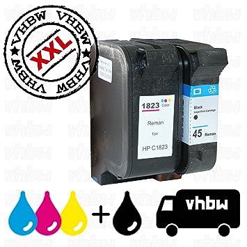 vhbw Set 2X Cartuchos Tinta compatibles de Recambio para ...