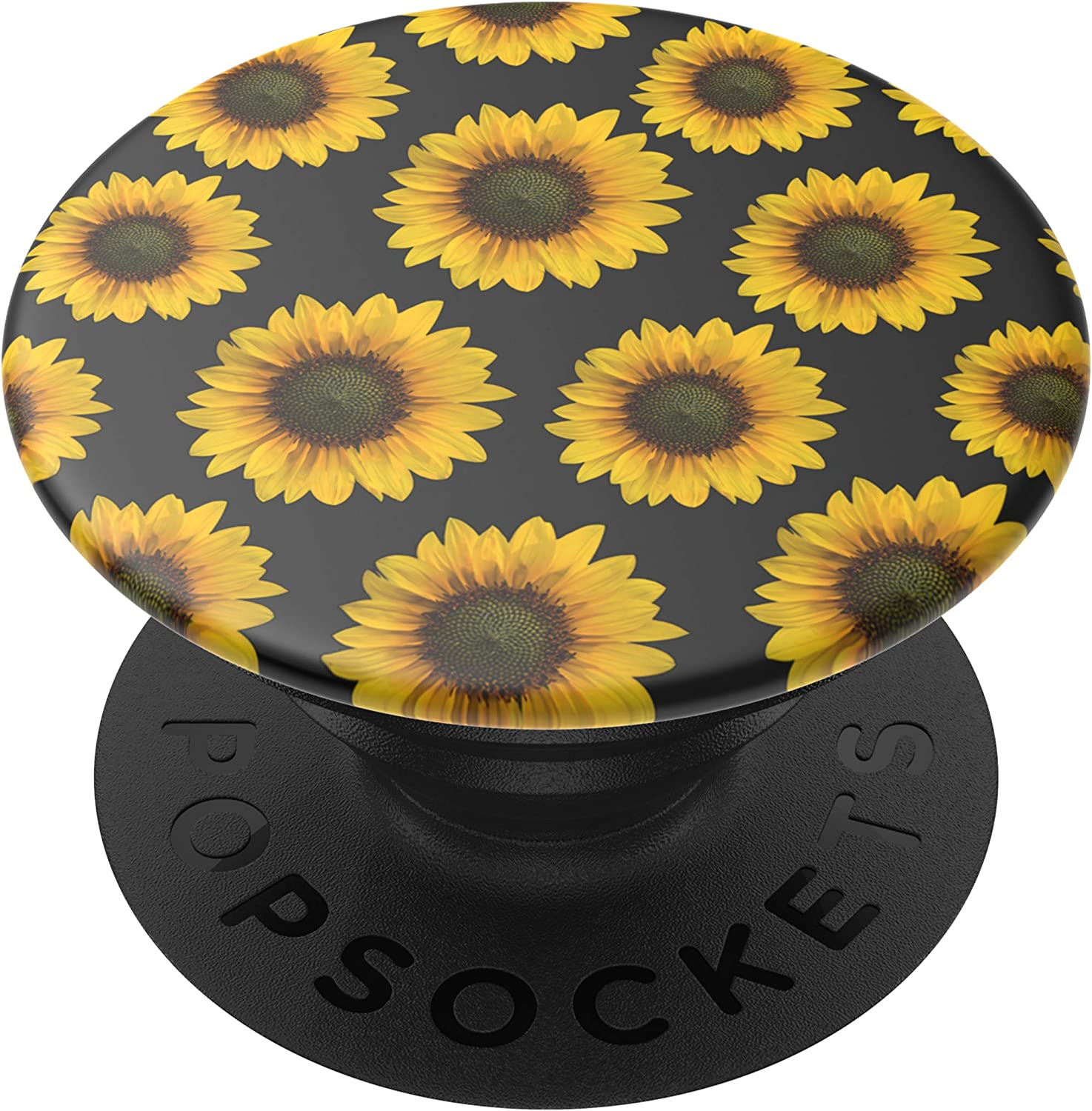 PopSockets: PopGrip with Swappable Top for Phones and Tablets - Sunflower Patch