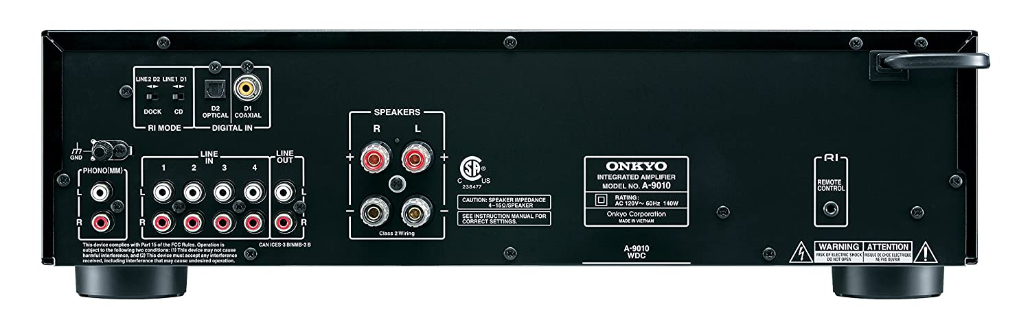 Amazon onkyo a 9010 integrated stereo amplifier home audio amazon onkyo a 9010 integrated stereo amplifier home audio theater fandeluxe Gallery