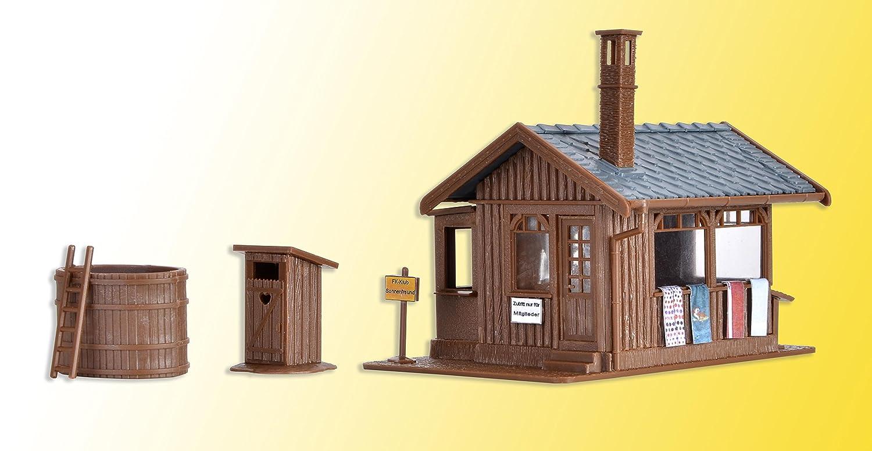 Großartig Vollmer 45146 H0 Sauna mit Inneneinrichtung und LED-Beleuchtung  IH46