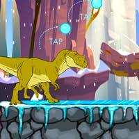 Aventura de dinosaurios de dibujos animados