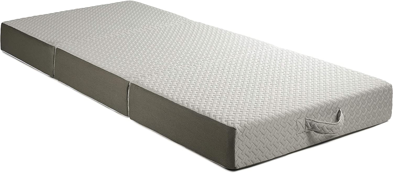 Amazon.com: Milliard 6 Inch Memory Foam Tri Folding Mattress with