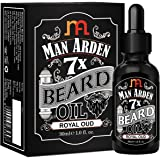 Man Arden 7X Beard Oil (Royal Oud), 7 Premium Oils For Beard Growth & Nourishment - 30ml