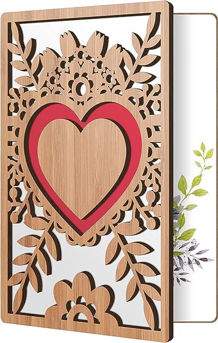 Carte vierge-pour toute occasion Choix de 2 motifs floraux Juste pour dire..