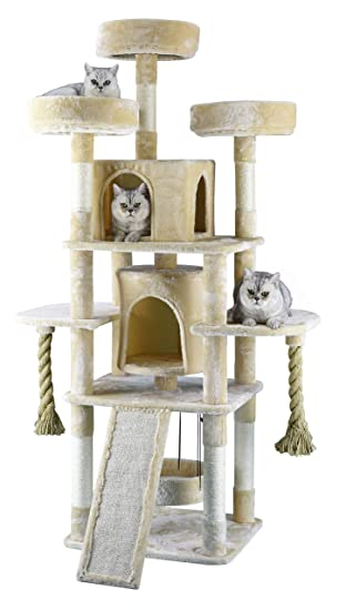 Amazon.com: Go Pet Club - Cuerda para árbol de gato (70 ...