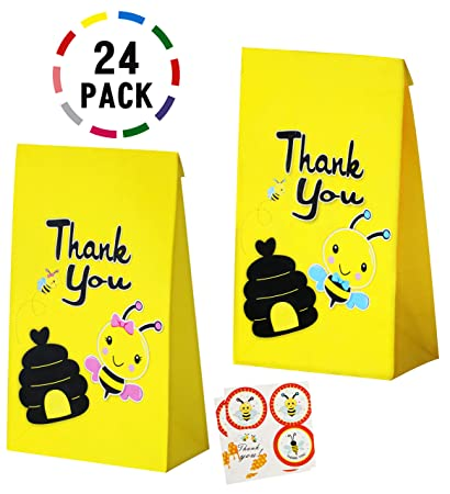 Amazon.com: Uniceworld 24 bolsas de abejas, bolsas de regalo ...