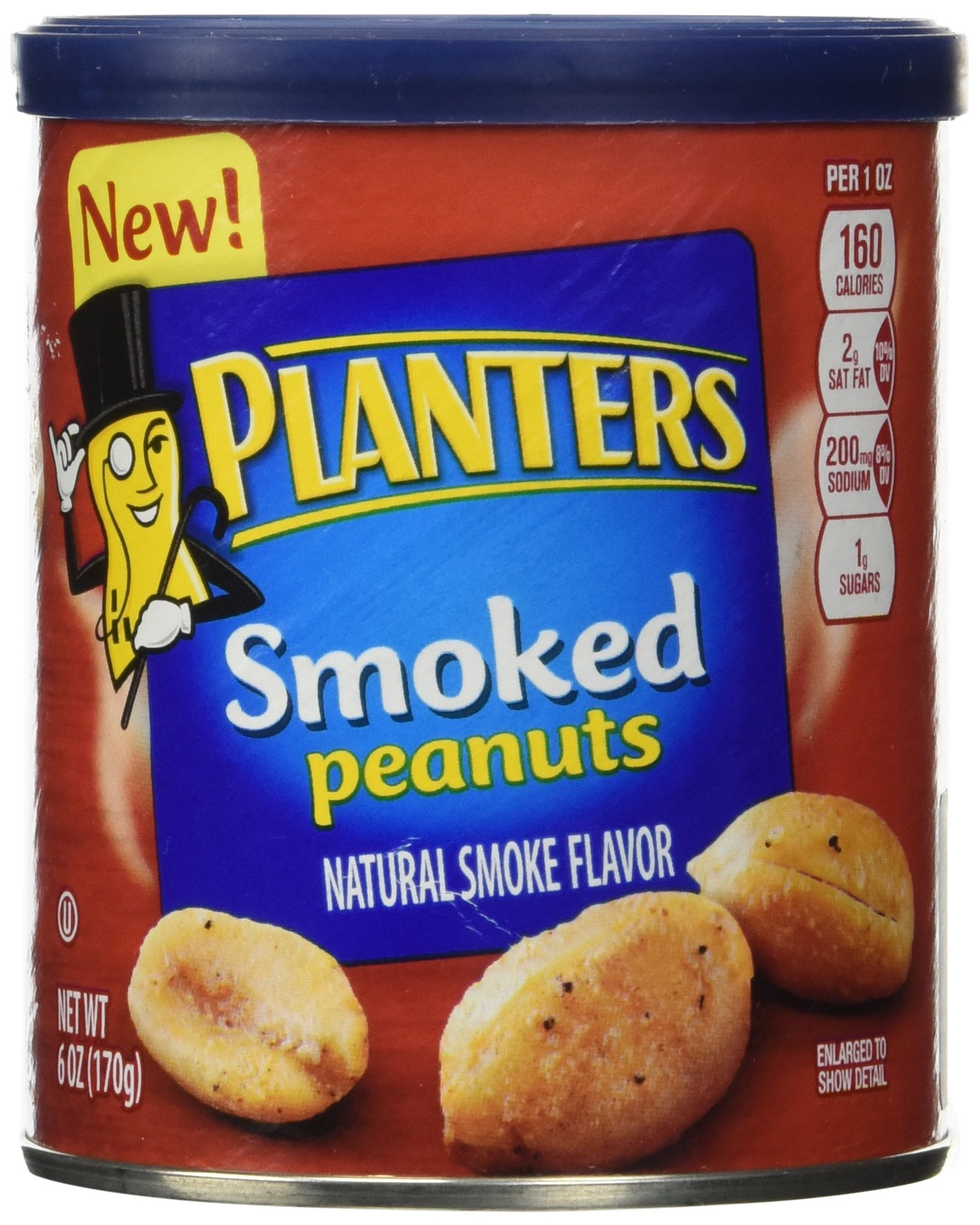Planters Peanuts Smoked by Planters