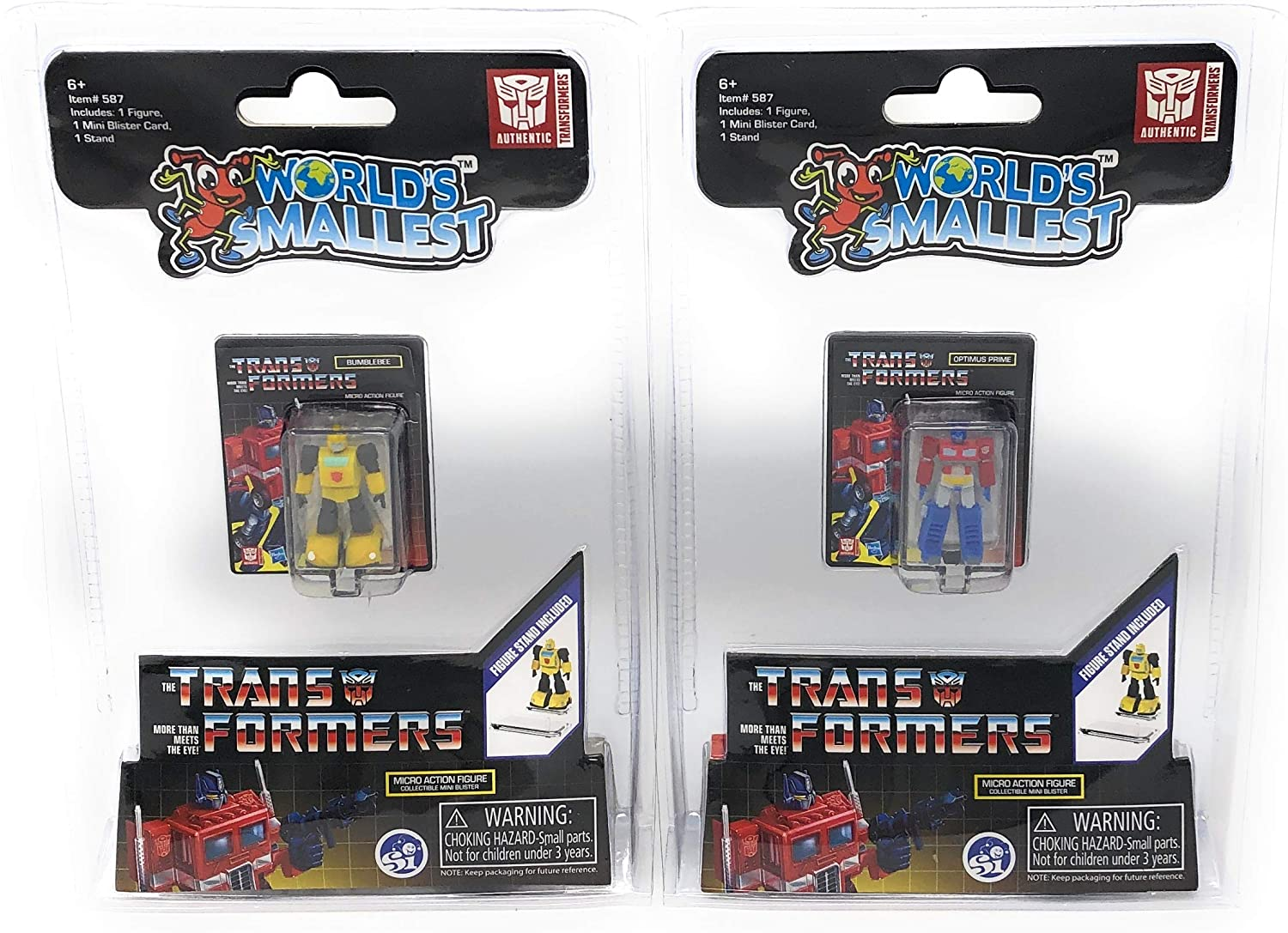 Transformers Generation One Sticker Packet One Packet of 6 Stickers Supplied