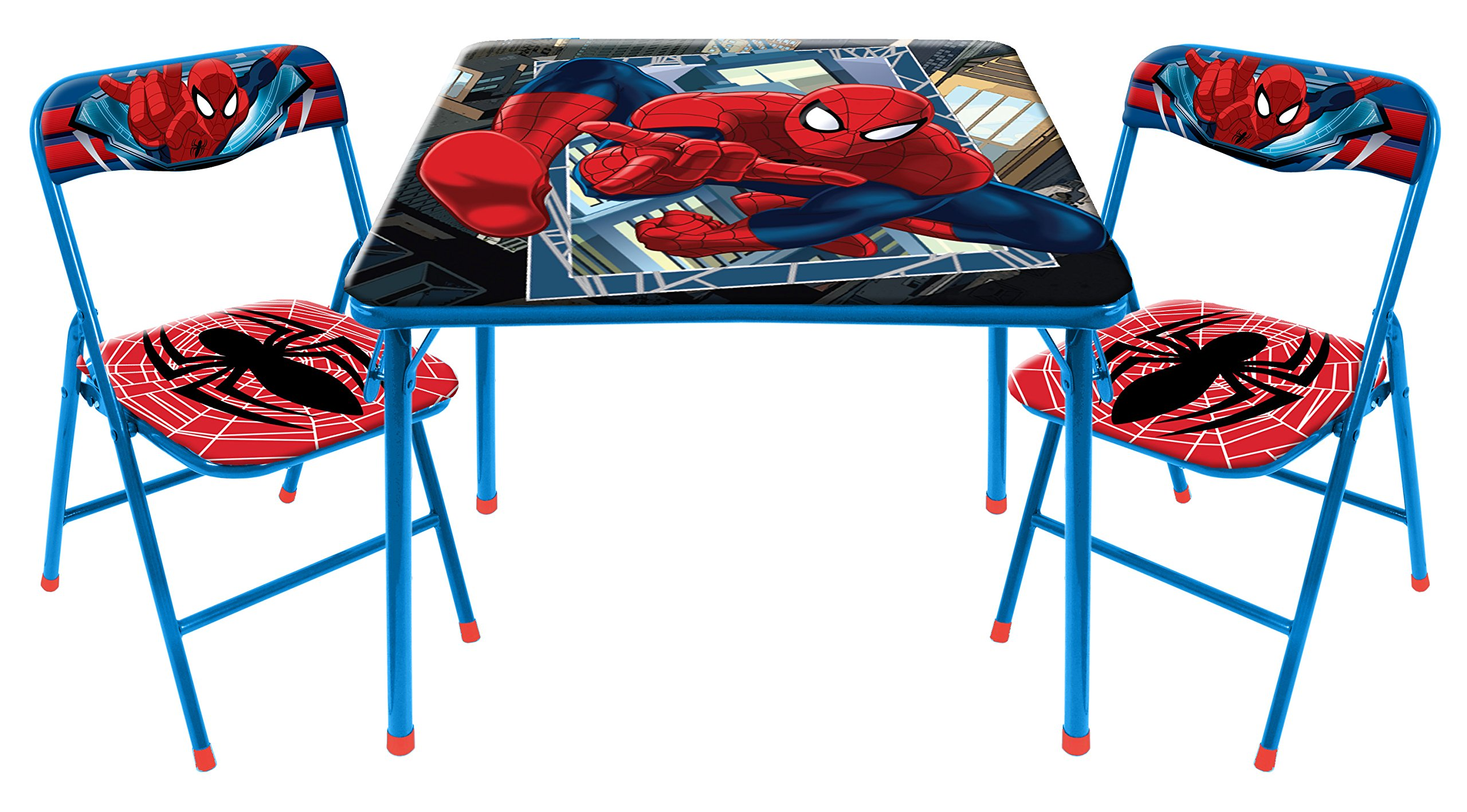 Marvel Spider-Man 3-Piece Table and Chair Set by Marvel