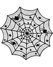 DII Halloween Lace Tablecloth 54 by 72-Inch