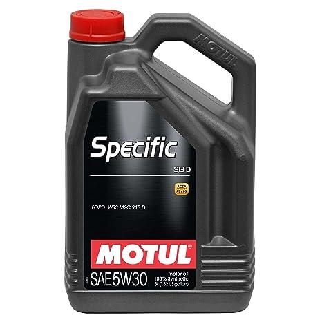MOTUL Aceite de Motor específico 104560 913D 5 W-30 Aceite de Motor de Baja