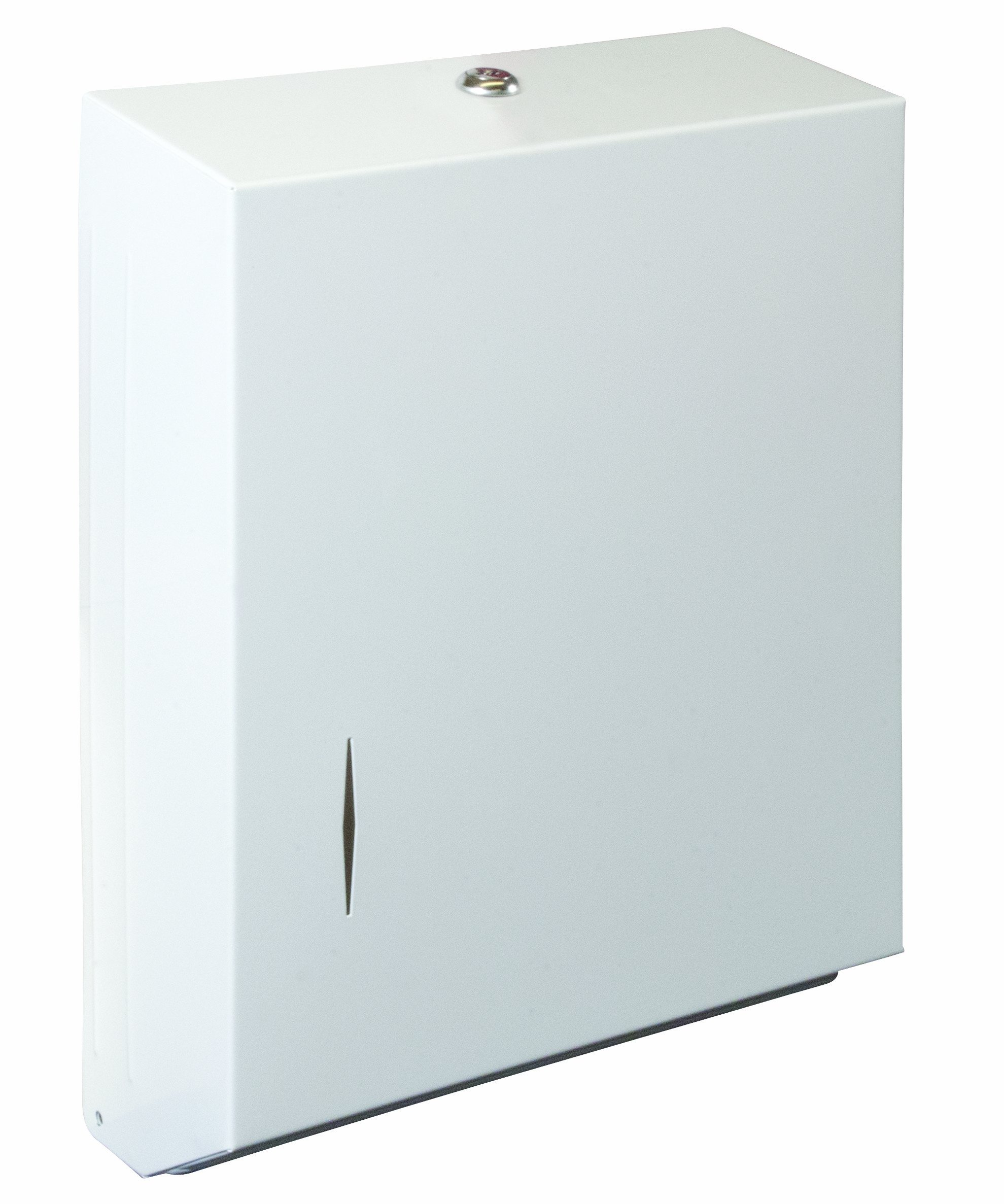 Bradley 250-150000 Stainless Steel Surface Mounted Towel Dispenser, 11'' Width x 15-5/16'' Height x 4'' Depth
