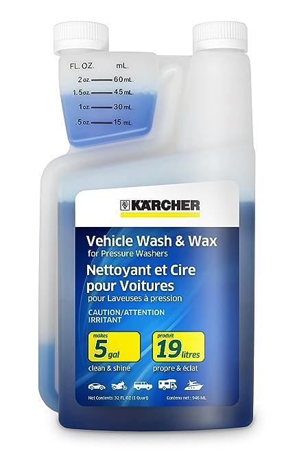 Pressure washer car wash soap