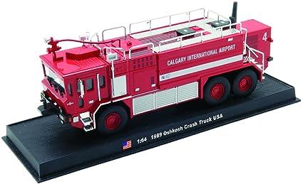 Oshkosh Crash Fire Truck Diecast 1:64 Model (Amercom GB-3)