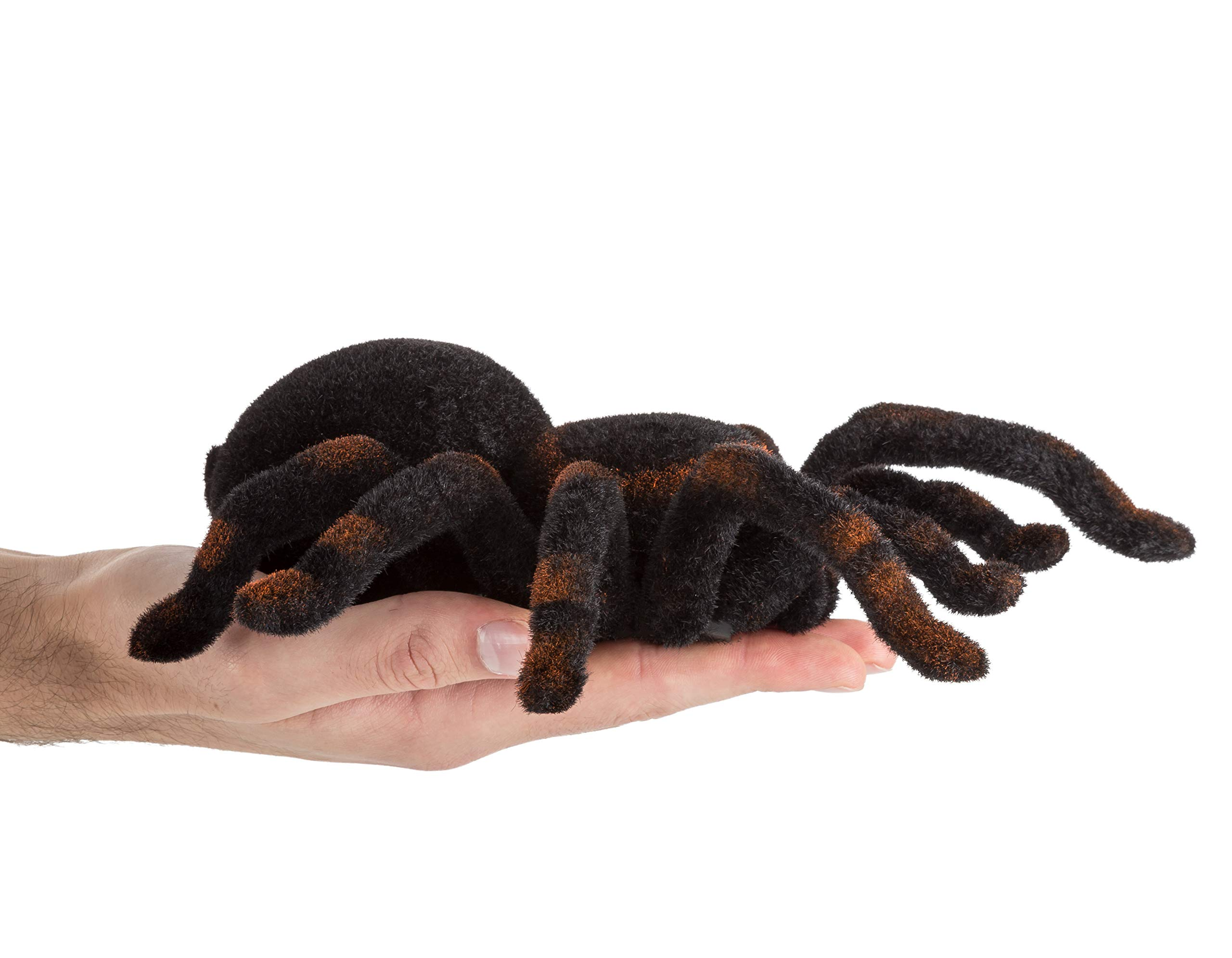 Advanced Play Remote Control Spider Toy Realistic 8 Inch Tarantula Animal Figures Funny Prank Joke Scare Gag Gifts for Halloween Christmas Party decor Birthdays Holidays April Fool Pranks by Advanced Play (Image #3)