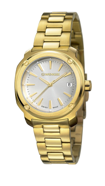 cdb838aeb1c Amazon.com  Watch Wenger Women s Edge Index Watch Quartz Sapphire Crystal  01.1121.107 01.1121.107  Watches