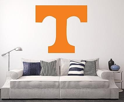 b32302d8 Amazon.com: Tennessee Volunteers Wall Decal Home Decor Art NCAA Team ...