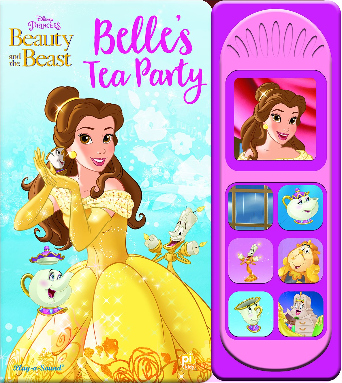 Disney Princess Beauty and the Beast Belle's Tea Party Little Sound Book pdf epub