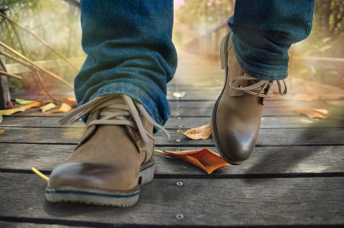 Zerimar Botas de Piel Hombre | Botines de Cuero Hombre | Botines Desert Hombre | Botines Hombre de Vestir | Botin Hombre Casual: Amazon.es: Zapatos y ...