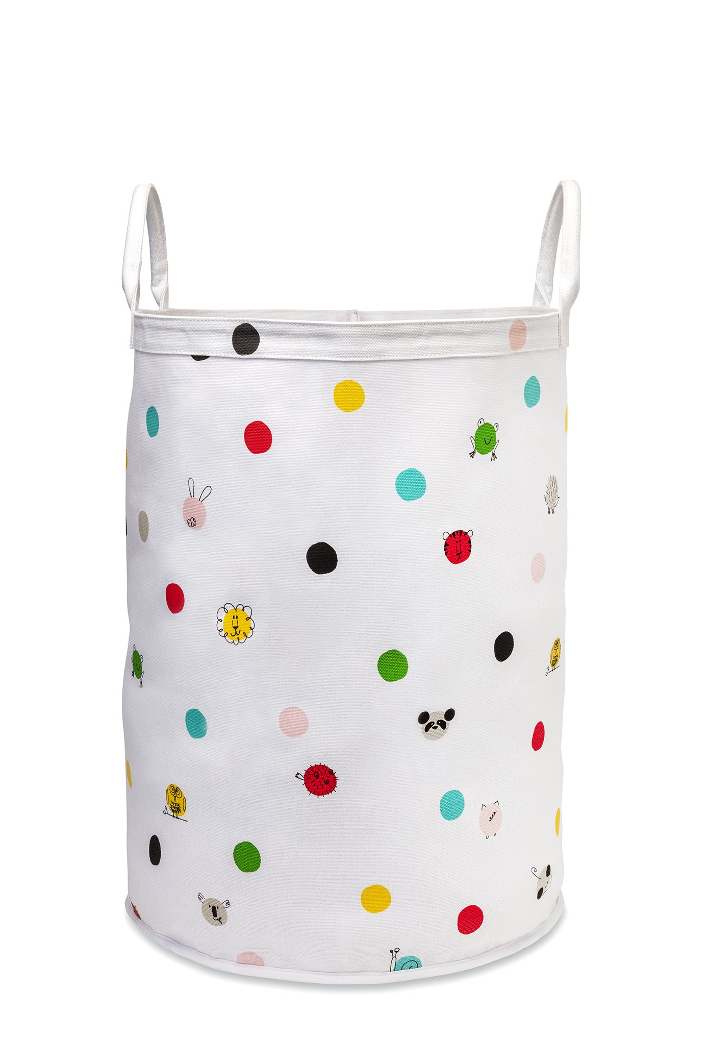 Kate Spade New York Baby Canvas Storage Bin Large, Dots