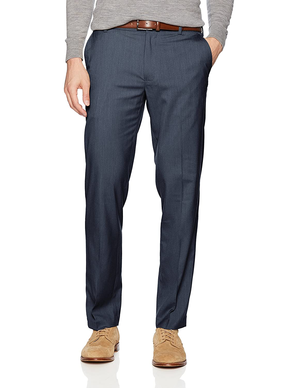 Van Heusen Men's Air Straight Fit Pant 505M131